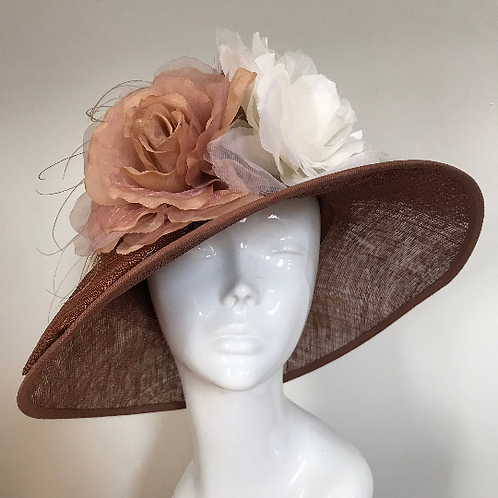 Copper Beech Dreaming - Hat Couture