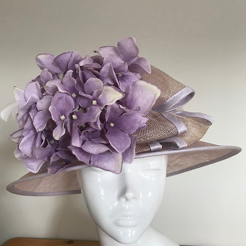 Christine at Syon Gardens - Hat Couture