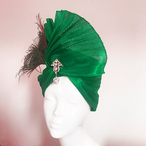 Emerald's Poison Ivy - Hat Couture