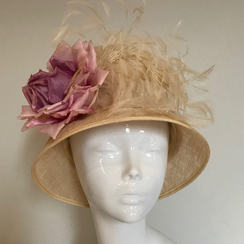 Pink Champagne on Ice- Hat Couture