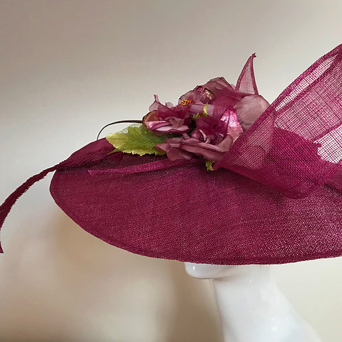 Cranberry Crush in Cambridge - Hat Couture