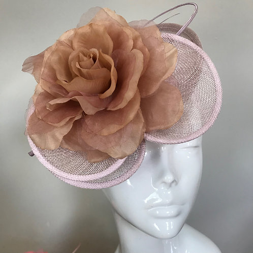 Lilac Daisy Rose - Hat Couture