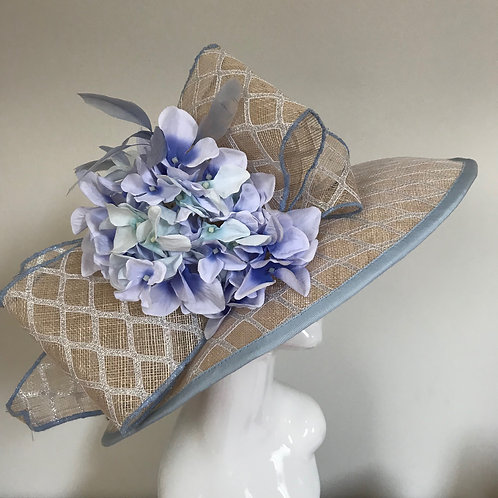 Cousin Beryl Adores Bluebells - Hat Couture