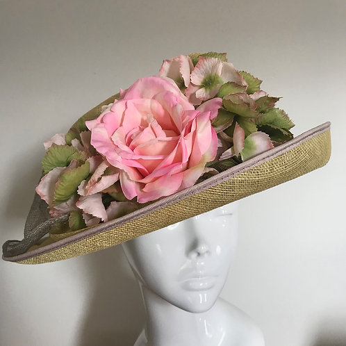 Laura's Rose Lime Mojito - Hat Couture