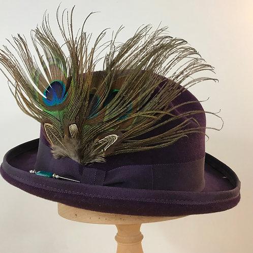 Peacock Strut - Damson