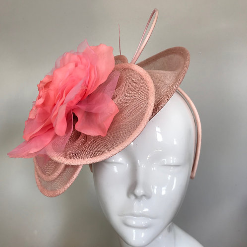 Pink Daisy Rose - Hat Couture