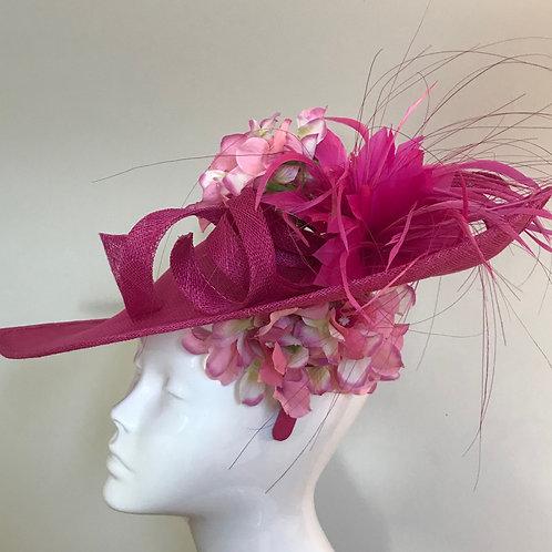 Magenta Rush - Hat Couture