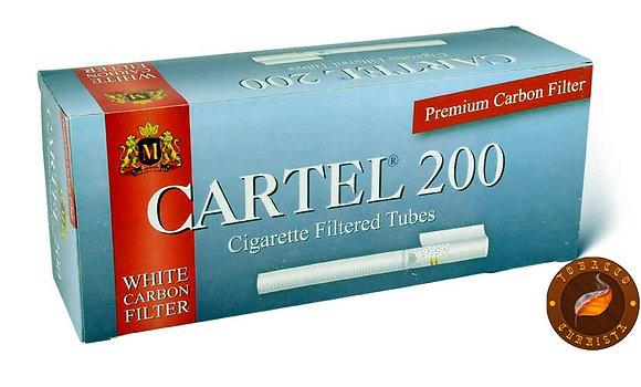 Сигаретные гильзы Cartel - White Carbon (200 шт.)