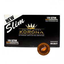 Сигаретные гильзы Korona Slim  (120 шт.)