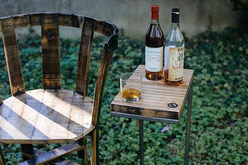 Cigar Table With Bourbon-barrel Wood
