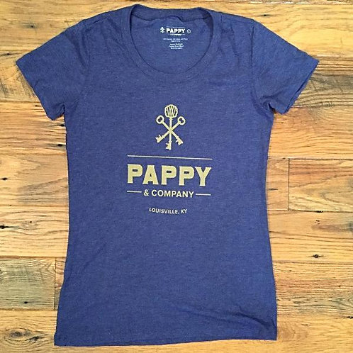 Women's T-shirt Pappy & Company in Blue