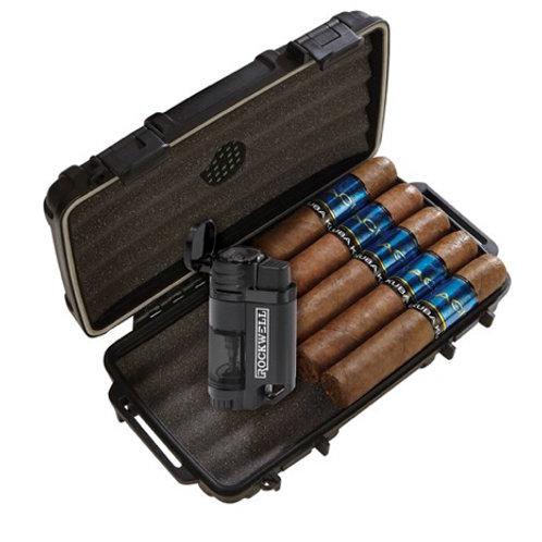5 Cigar Humidor Combo