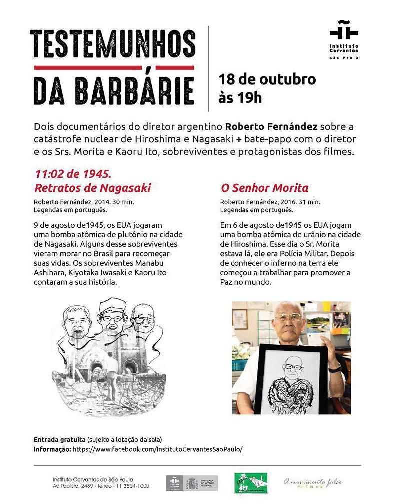 Int Cervantes Afiche o Sr Morita  1102.j