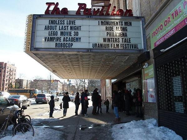 Uranium Film Festival em cinema no Brook