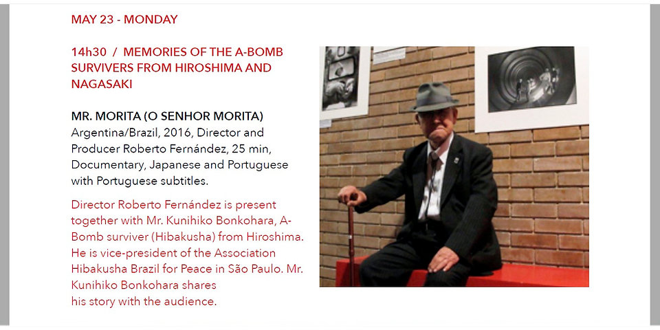 IUFF O Sr Morita programa FOTO Morita.jp