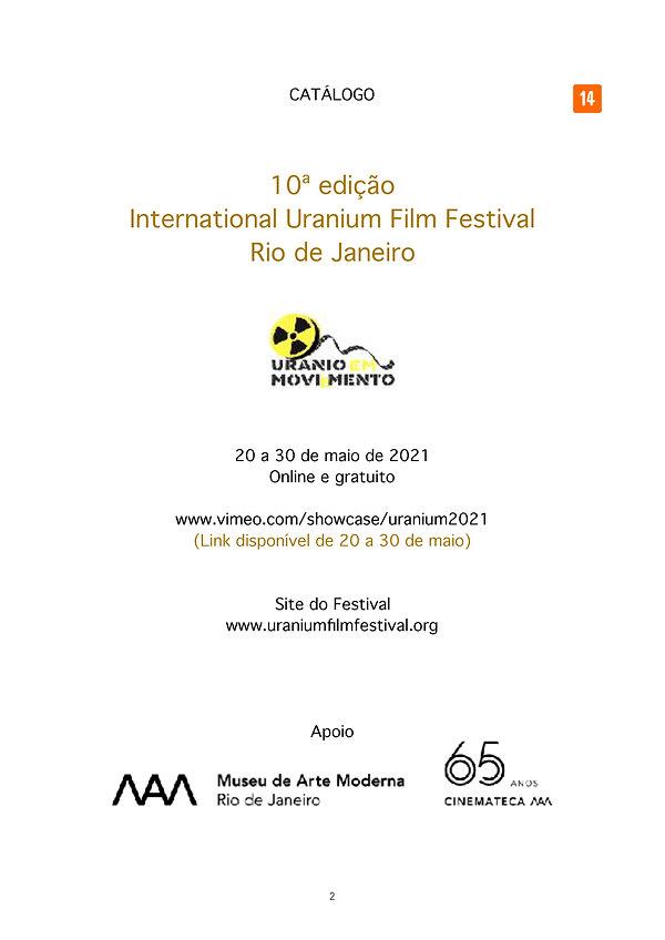 Catálogo Uranium Film Festival 2021 FOLH