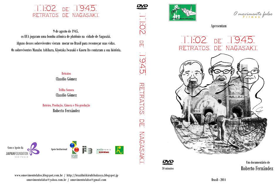 1102 de 1945 Capa DVD PORTUGUES 273mm x