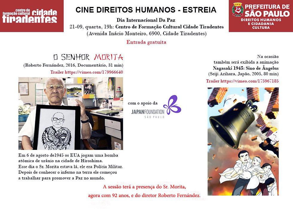 O Sr Morita  Cine Direitos Humanos  Cida