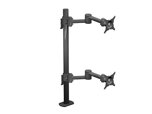 W6493  Dual Monitor Two Articulating Arm