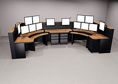 e-Systems Contour Line of Consoles for command, control and emergency response centers