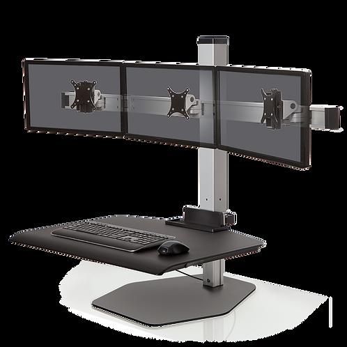 WNST-3-FS  Winston Triple Freestanding Sit-Stand