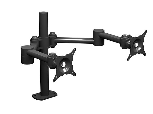 W6496  Dual Monitor Dual Articulating Arm