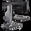 Thumbnail: WNSTE-2 Winston-E Sit-Stand Workstation Dual Monitor Mount