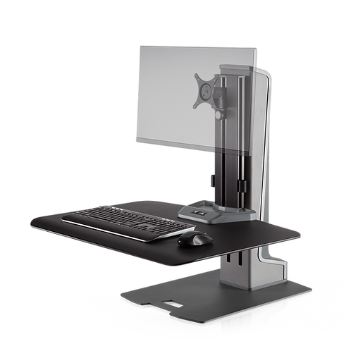 WNSTE-1 Winston-E Sit-Stand Workstation Single Monitor Mount