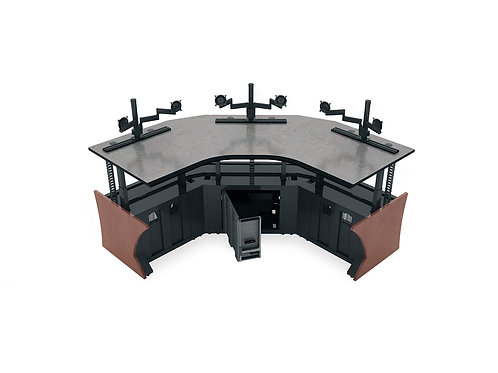 Ascend Sit/Stand Control Room Console