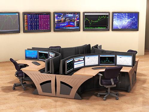Slat-Wall Control Room Consoles