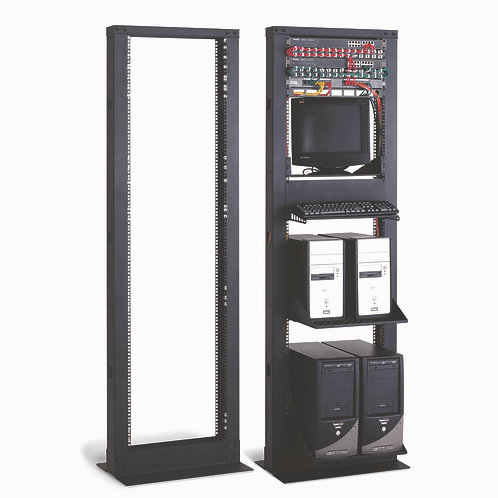 1911CCR - 41U  2-Post Cable Cove Rack