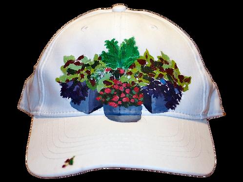 Summer planter hat