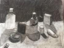 Reductive Still Life Drawing (Jul 12, 20
