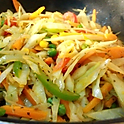 Creative, Organic Vegetable Stir-Fry