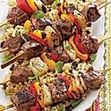 Caribbean Lamb Brochettes