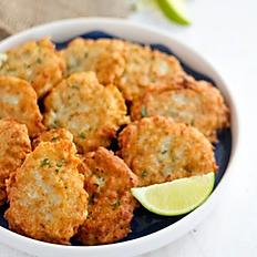 Jamaican Codfish Fritters