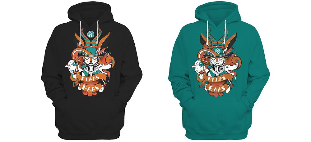 Maroela Plaasbaas hoodie designs