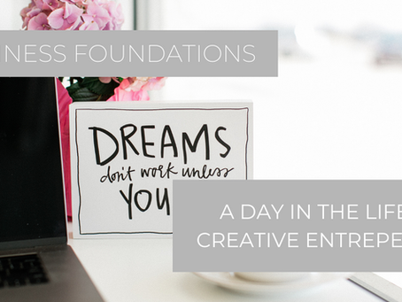 A Day in the Life of a Creative Entrepreneur