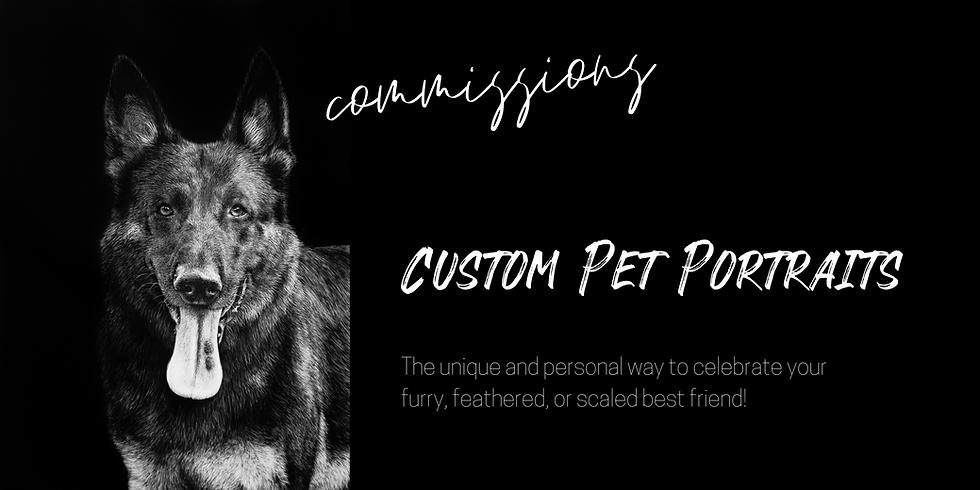 Melissa Helene Scratchboard, Scratchboard custom pet portrait, pet portrait, pet portrait artist, scratchboard artist