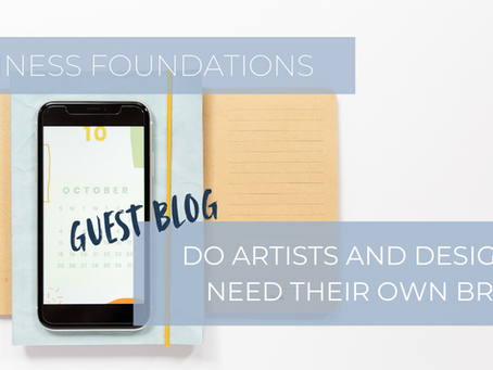 Do Artists and Designers Need Their Own Brand?