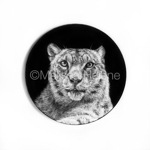 Snow Leopard   Ornament