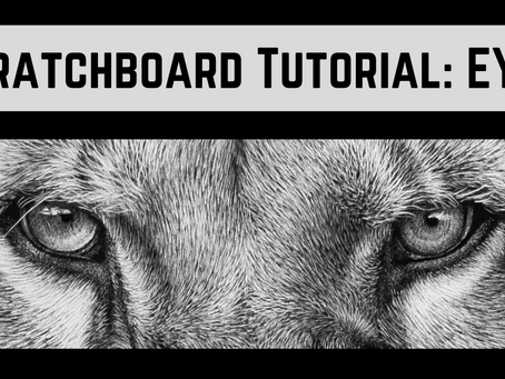 Scratchboard Tutorial: Creating Photo-Realistic Eyes with Life and Soul