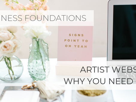 Why You Need Your Own Artist Website and Tips to Build One