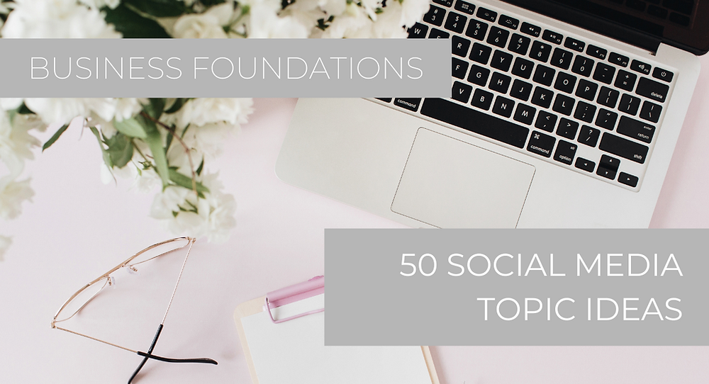 50 Social Media Topic Ideas for artists