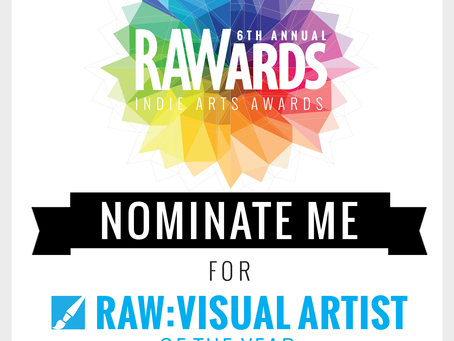 Nominate Me TODAY | RAW Minneapolis Visual Artist of the Year