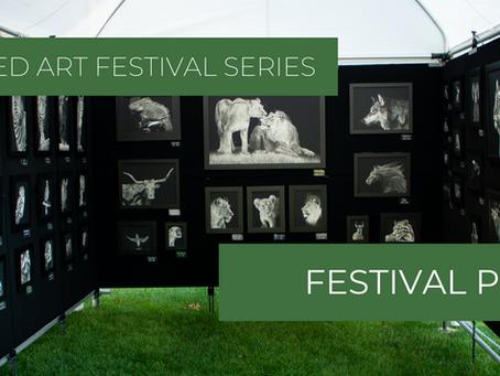 Preparing for a Juried Art Festival