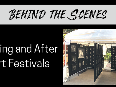 Art Festivals: During and After A Show