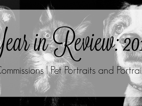 Year in Review: 2016 | Commissions | Pet Portraits + Portraits