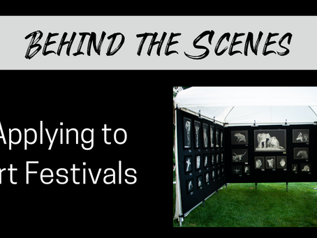 The Ins and Outs of Applying to Juried Art Festivals