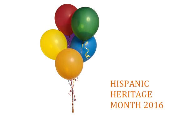 Hispanic Heritage Month is here